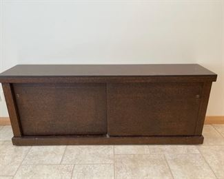 """CLEARANCE !  $10.00 NOW, WAS $45.00..................Cabinet 72"""" x 15"""", 28"""" tall (S231)"""