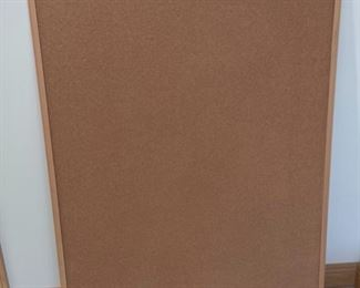 """REDUCED!  $6.00 NOW, WAS $8.00...................Cork Board 35"""" x 46"""" (S225)"""
