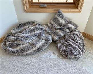 CLEARANCE !  $15.00 NOW, WAS $60.00.................2 Bean Bags one Pillow (S210)