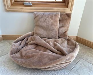 CLEARANCE !  $10.00 NOW, WAS $40.00................Bean Bag with 2 pillows (S209)