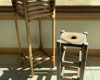 $8.00....................2 Plant Stands (S207)