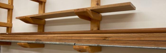 HALF OFF!  $30.00 NOW, WAS $60.00...............Cherry Lumber Planks (S409)