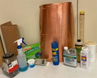 REDUCED!  $6.00 NOW, WAS $8.00................Copper and Cork Scrap and more (S388)
