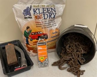 CLEARANCE !  $3.00 NOW, WAS $16.00......................Heavy Chains, Kleen Dry and more (S389)