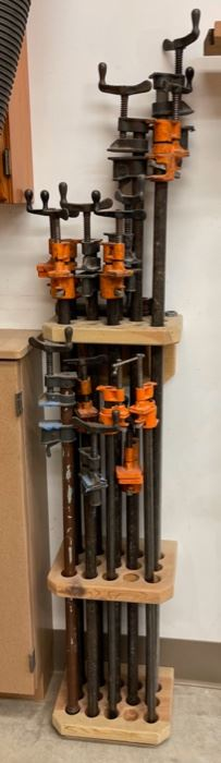REDUCED!  $150.00 NOW, WAS $200.00...............14 Clamps * Holder not included (S367)