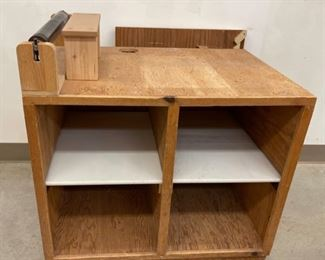 HALF OFF!  $15.00 NOW, WAS $30.00.................Custom Tool Cabinet/Table (S366)