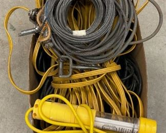 HALF OFF!  $5.00 NOW, WAS $10.00...............Wire and Cords (S365)