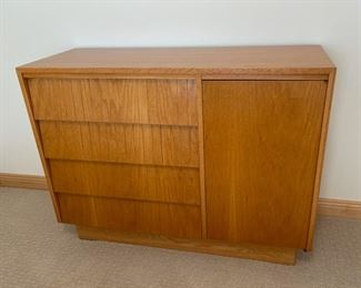 """Full Bed, Nightstand and Dresser 45"""" x 17"""", 34 1/2"""" tall (S336)"""