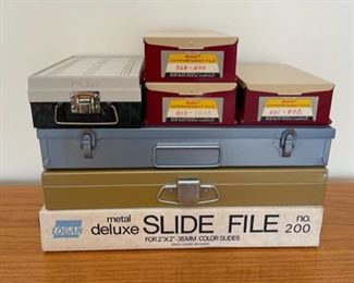 REDUCED!  $4.50 NOW, WAS $6.00..................Slide Boxes (S310)