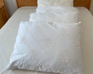 HALF OFF!  $8.00 NOW, WAS $16.00..................5 Gently Used Pillows (S299)