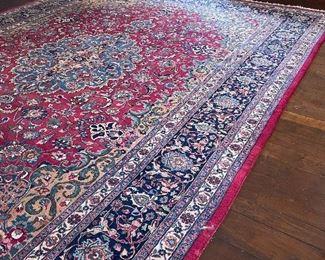 Mashad 13.6' x 10.6' 100 Wool Pile Area Rug