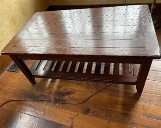 Coffee Table mission style