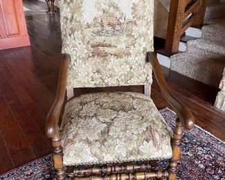 Matching Lodge Chairs by Euroantique