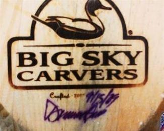 Big Sky Carvers Pheasant  Signed