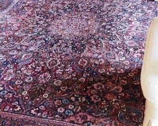 Mashad 100%  Wool Pile Rug 13.6'x 10.6'