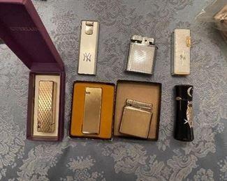 Assorted Vintage lighters