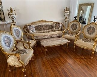 New French style living room set