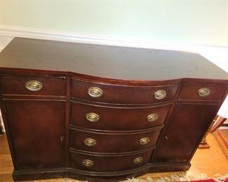 Vintage Cherry Buffet/Sideboard