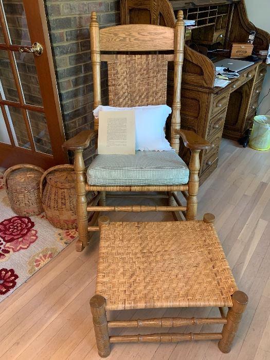 Brumby Porch Rocker & Ottoman