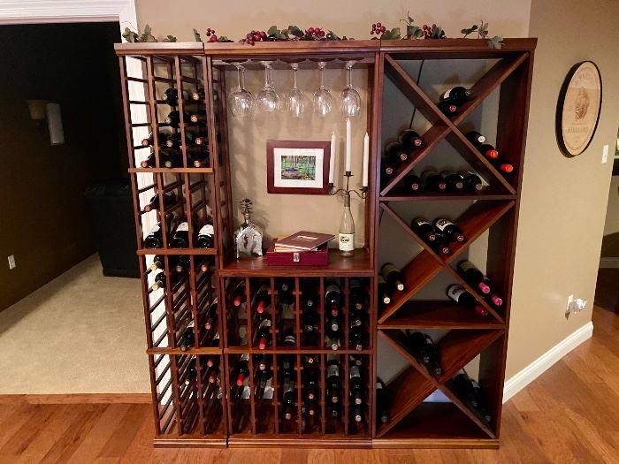 Wine rack / wine bar