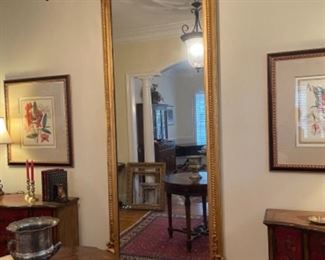 PLANTATION MIRROR FROM HISTORIC PAWLEY'S ISLAND HOME.