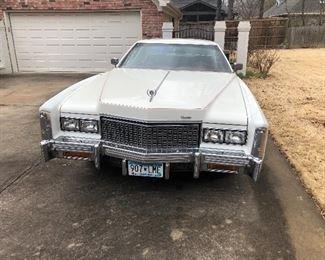 1976 Cadillac  Eldorado  only 90,000 Original Miles