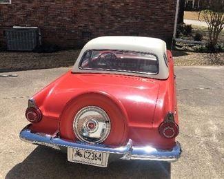 1956 Thunderbird Convertible with Hard Top