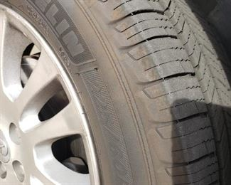 New Michelin tires from Costco