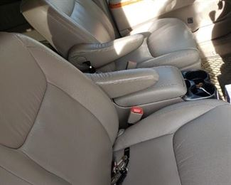 Nice leather interior