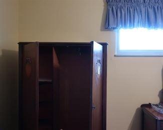 inside  of  chifferobe  cabinet