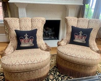 pair of matching chairs by Century