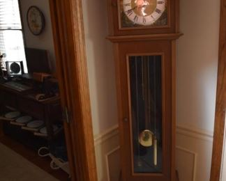 Hall Tall Case GrandMother's Clock