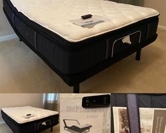 Stearns & Foster Ease Queen Size Electric Bed-Like New