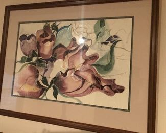 Watercolor and mixed media