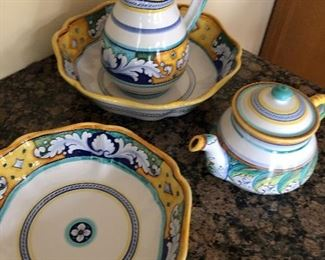 Italian Deruta Pottery