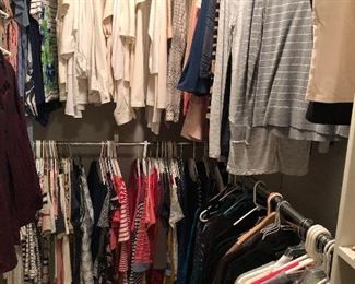 Extensive collection of t-shirts and tops - size S - M