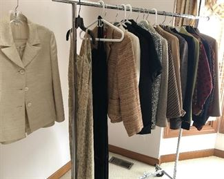 Clothing - nice jackets and evening dresses - Size S and 6-8