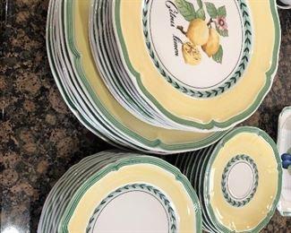 Villeroy & Boch  - porcelain dishes - Citron