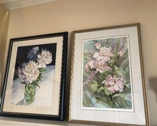 Watercolors by Pat Camillo