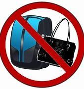 no purses allowed