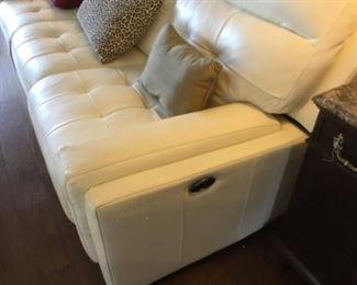 Reclining sofa. $150.00