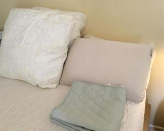 Pillow shams (2) = $6.00