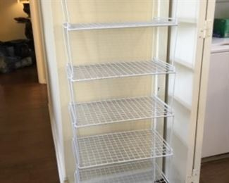 6 tier shelf - $20