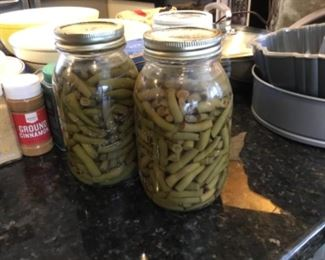 Canned green beans - no date - $4 ea