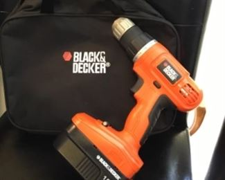 Black & Decker with case - $40