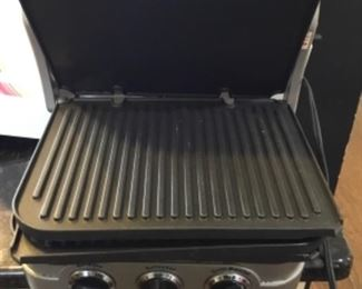 Close up of grill