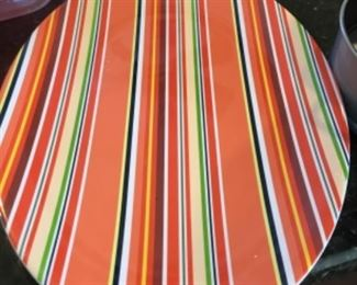 Colorful, large tray - plastic - $10.00