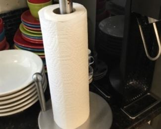 Stainless steel paper towel,holder- $20.00