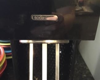 Close up of Soda stream