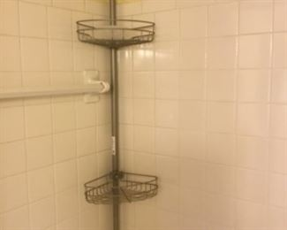 Bath stainless shelf - $12